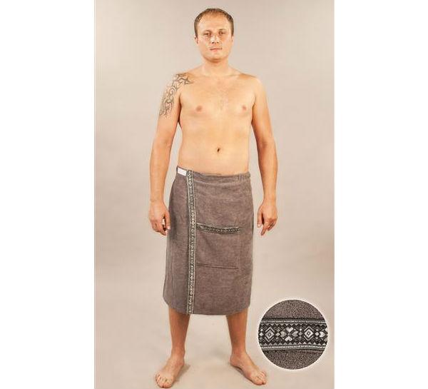 Сшить полотенце для бани на липучках